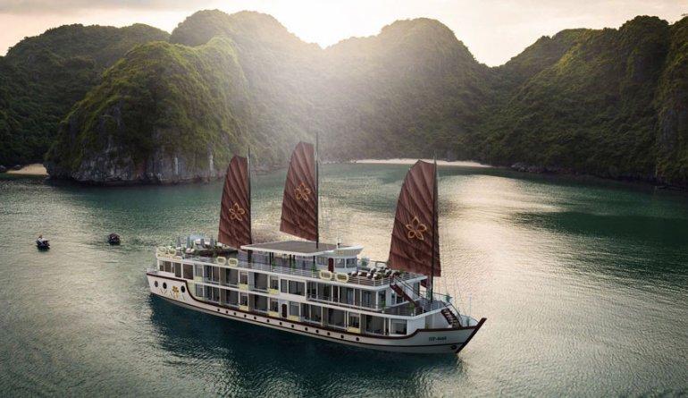 Rubicontours Azalea Cruises Halong Bay