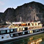 Serenity Cruises in night