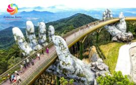 5D4N~ Danang +Hue (Day trip) +Hoi An +Sunworld Bana Hills
