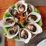 Rubicon Tours Seafood Menu