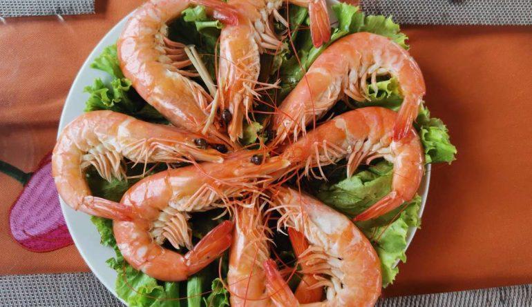 Rubicon Tours Seafood Menu 2