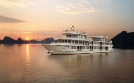 2D1N Athena Luxury Cruise Ha Long + Bai Tu Long Bay