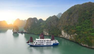 3D2N Madeline Cruises Ha Long + Lan Ha Bay